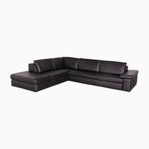 Vintage Leather Corner Sofa from Ewald Schillig