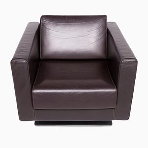 Vintage Leather Armchair from Vitra