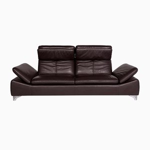 Vintage Leather 3-Seat Sofa from Willi Schillig