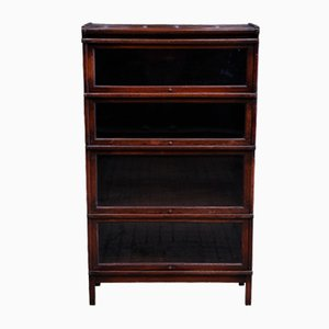 Antique Sectional Oak Bookcase from Globe Wernicke