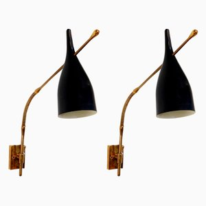 Mid-Century Sconces by Angelo Lelli for Arredoluce, Set of 2