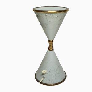 Lampada da tavolo a clessidra Mid-Century di Arredoluce