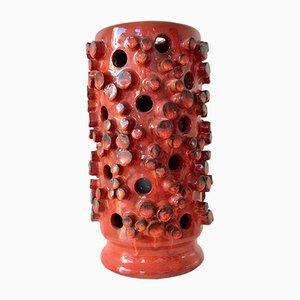 Lámpara de mesa de cerámica de Oswald Tieberghien para Oswald Tieberghien, años 60