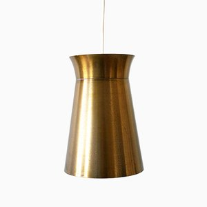 Mid-Century German Brass Pendant Lamp, 1950s