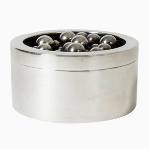 Silver Jar from Atelier Borgila, 1960s