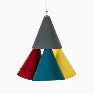 Lámpara de techo de Svend Aage Holm Sørensen, años 50
