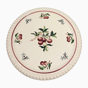Earthenware Dish from Longwy, 1950s