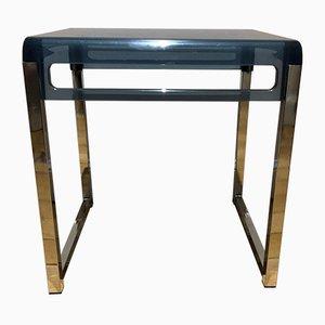 Plexiglass Side Table, 1970s