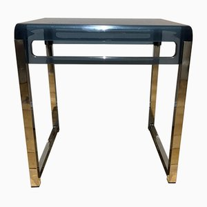 Tavolino in plexiglas, anni '70