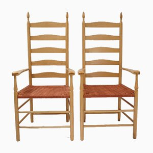 English Maple Side Chairs from Shaker of Malvern, UK, 2003, Set of 2
