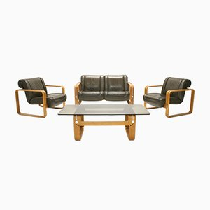 Living Room Set by Albert & Martin Stoll for Giroflex, 1970s, Set of 4