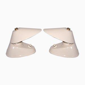 Lámparas de mesa de baquelita, años 50. Juego de 2