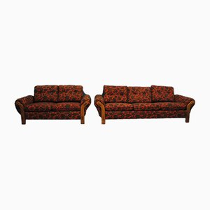 Swedish Sofas by Bröderna Nilsson for Ekenassjon, 1960s, Set of 2