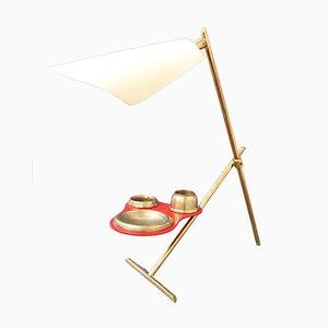 Mid-Century Italian Brass Table Lamp, 1950s