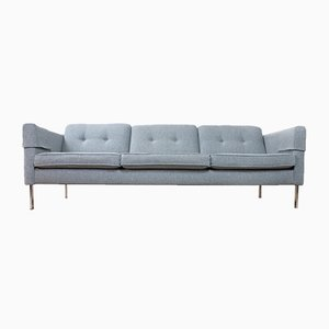 Mid-Century Gray Model 446 Sofa by Pierre Paulin for Artifort, 1960s