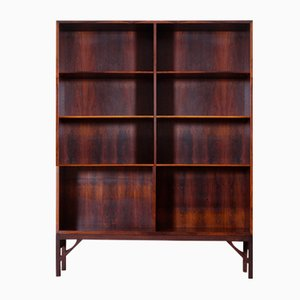 Danish Rosewood Shelving Unit by Børge Mogensen, 1960s