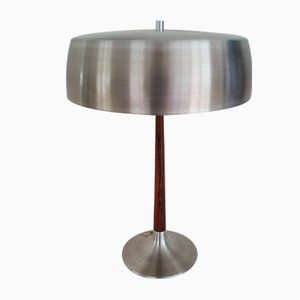 Rosewood Table Lamp by Svend Aage Holm Sørensen for Holm Sørensen & Co, 1960s