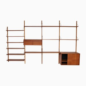 Danish Wall Unit by Poul Cadovius, 1960s