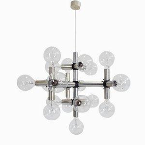 Mid-Century Kronleuchter von Robert Haussmann für Swiss Lamps International