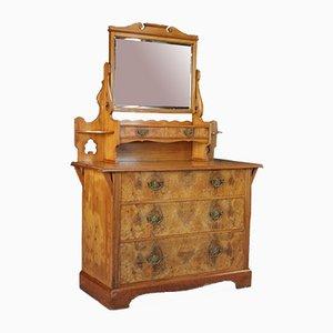 Antique Victorian Walnut Dresser