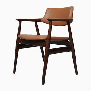 Mid-Century Rosewood Armchair by Sven Aage Eriksen for Glostrup, 1960s
