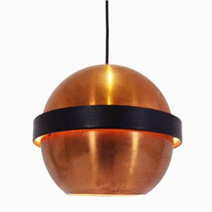 Copper Pendant Lamp, 1950s