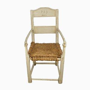 Antique Victorian Swedish Armchair, 1850s