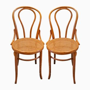 Bistro Chairs from Fischel Niemes, 1940s, Set of 2