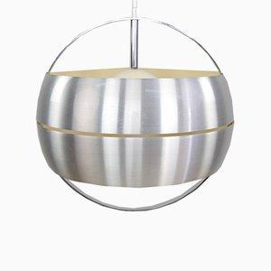 Italian Steel Pendant Lamp, 1960s