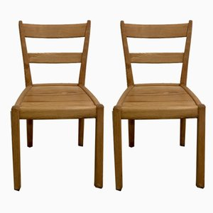 Swiss Side Chairs by Franz Xavier Sproll, 1940s, Set of 2