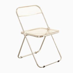 Clear Acrylic Folding Chair by Giancarlo Piretti for Castelli / Anonima Castelli, 1960s