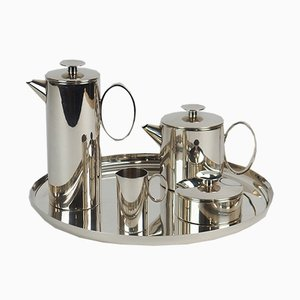 Tea and Coffee Set by Lino Sabattini from Christofle, 1970s, Set of 5