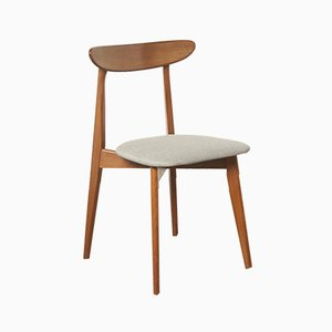 Dänischer Beistellstuhl aus Teak, 1950er