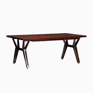 Mid-Century Rosewood Work Table by Ico Parisi for MIM