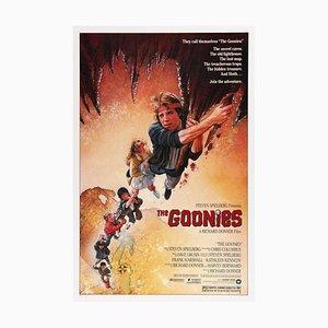 Poster vintage del film The Goonies di Drew Struzan, anni '80