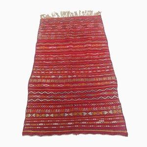 Vintage Moroccan Wool Berber Carpet, 1920s