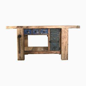 Mid-Century Wooden Work Table