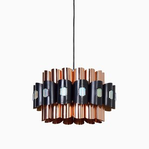 Danish Pendant Lamp by Werner Schou for Coronell Elektro, 1970s