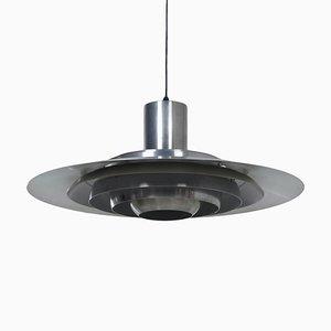 Danish Model 74407 Ceiling Lamp by P. Fabricius & J. Kastholm for Nordisk Solar, 1960s