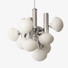 Spanish Sputnik Style Chandelier