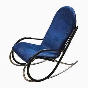 Vintage Model Nonna Rocking Chair by Paul Tuttle for Strässle, 1970s