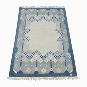 Mid-Century Scandinavian Kilim Carpet, 1960s