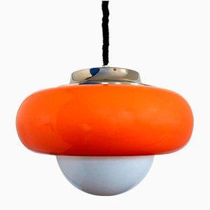 Lámpara colgante italiana Mid-Century de Guzzini, años 70