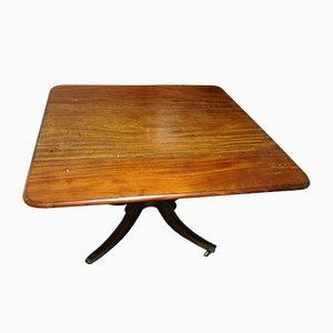 Antique Georgian Regency Extendable Mahogany Pembroke Table