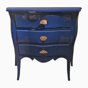 Louis XV Style Blue Rosewood Dresser, 1950s