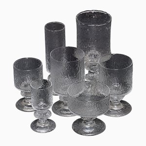 Finnish Glasses by Timo Sarpaneva for Iittala, 1960s, Set of 84