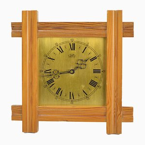 Horloge Murale Mécanique de UPG Halle, Allemagne, 1960s