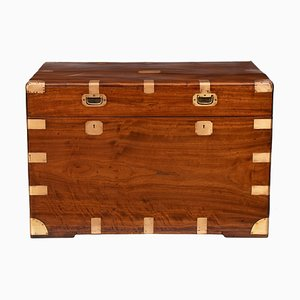 Antique Military Campaign Trunk, 1850s