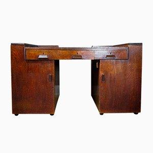 Vintage Art Deco Rosewood Modular Desk, 1930s