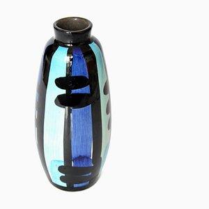 German Ceramic Vase from Strehla, 1960s